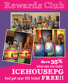 IcehousePub Paint Nite Coupon