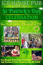 St Patrick's Day at the Icehouse