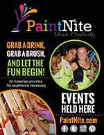Paint Nite Events Flyer
